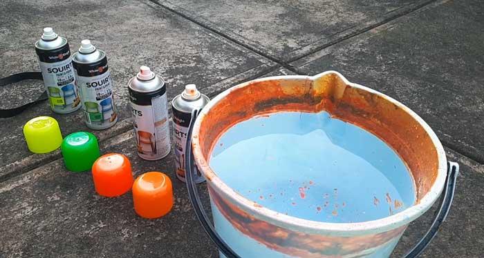 Hydro dip paints