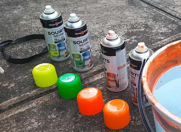 Hydro Dip spray paint