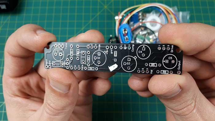 Berserker fuzz pedal PCB
