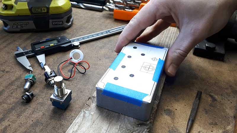 Drill guitar pedal