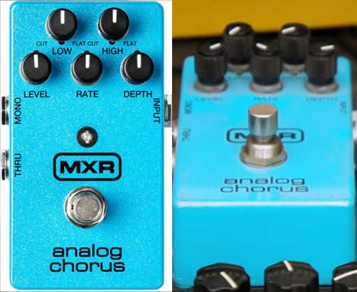 Slash chorus pedal settings