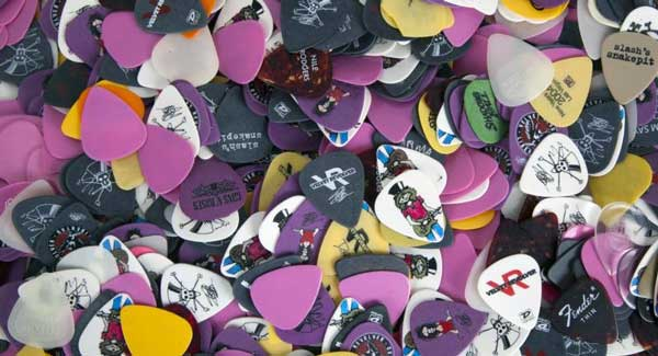 Slash guitar picks