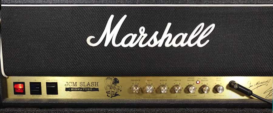 Slash JCM Marshall Amp Settings