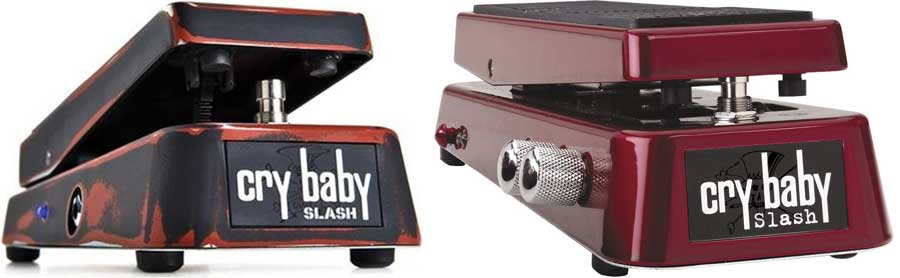 Slash wah pedals
