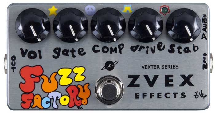 Zvex Fuzz Factory Guitar Pedal