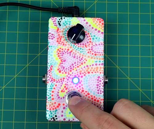 DIY 7 Minute Fuzz pedal build
