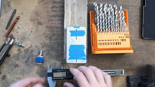 Drilling pedal enclosure